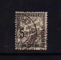 Taxe N°14 5ct Noir Oblitéré  (cote 35€) - 1859-1955 Used