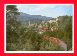 CPSM  ALLEMAGNE  -  BADEN-BADEN  -  14  Blick Nach Dem Neuen Schloß  ( En 1950 ) - Baden-Baden