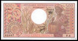 500 CINQ CENT FRANCS FRANCHI REPUBBLICA CENTROAFRICANA  REPUBLIQUE CENTRAFRICAINE EM. 1981 - República Centroafricana