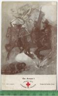 Union Des Femmes De France, La Croix Rouge, Lucien JonasVerlag: -----PostkarteErhaltung: I-II, Unbenutzt, Karte Wird In - Rotes Kreuz