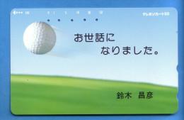Japan Japon Télécarte  Telefonkarte  Phonecard  Teleca    Nr. 110 - 115  Golf - Phonecards
