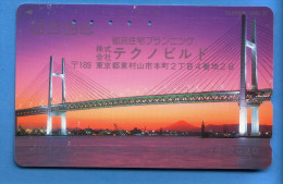 Japan Japon Télécarte  Telefonkarte  Phonecard  Teleca    Nr. 110 -  238   Brücke - Phonecards
