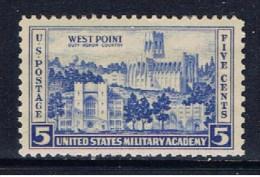 US+ 1936 Mi 394 West Point - Vereinigte Staaten