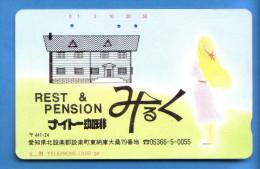 Japan Japon Télécarte  Telefonkarte  Phonecard      Nr. 110 -  22 - Phonecards