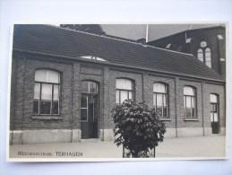 Ma Réf: 59-20-5.          TERHAGEN                         Meisjesschool.          ( Carte Photo !!!  ). - Rumst