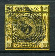 17658) BADEN # 7 Gestempelt Aus 1853, 35.- € - Bade