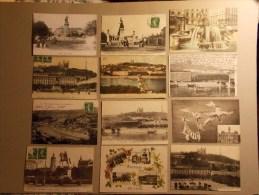 Lot De 32 Cartes Postales Rhone Alpes LYON + Suisse (6/8) - Cartes Postales