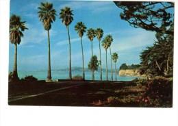 C P M---ETATS-UNIS--SANTA BARBARA---tree-lined Avenue Near Wotld-famous...........---voir 2 Scans - Santa Barbara