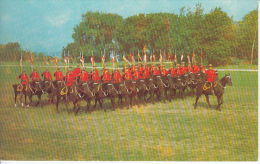 Ottawa Ontario Canada - Musical Ride - Royal Canadian Mounted Police - GRC - Animated - Ottawa