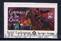 US+ 1975 Mi 1166 Ludington - United States