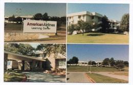 CP, ETATS-UNIS, TEXAX, DALLAS, Américan Airlines Learning Center, Dallas/fort Worth Airport, Multivues, Ecrite - Dallas