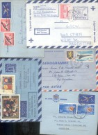 LOTE DE 25 AEROGRAMAS AEROGRAMMES LETTERSHEET AEROGRAMMA AUSTRALIA HOLANDA SUIZA SUECIA NIGERIA NORUEGA GRAN BRETAÑA ITA - Kilowaar (max. 999 Zegels)