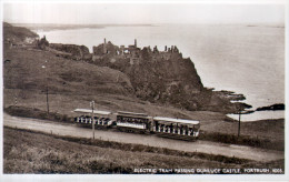 "Old Postcard : ""Electric Tram Passing Dunluce Castle,  Portrush"", Northern Ireland - SALE - Other"