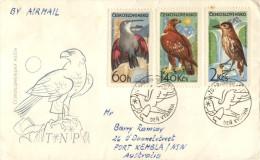 (318) Ceskoslovakia FDC Cover - 1965 - Birds - Oiseaux