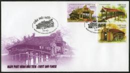 FDC Vietnam Viet Nam 2012 : Bridge (Ms1019) - Vietnam