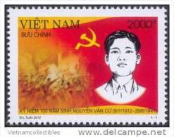 Vietnam Viet Nam MNH Stamp 2012 : 100th Birth Anniversary Of Nguyen Van Cu (Ms1024) - Vietnam