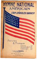 HYMNE NATIONAL   AMERICAIN STAR SPANGLED BANNER - Noten & Partituren