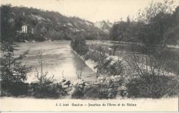Suisse    GENEVE - La Jonction Du  Rhone Et De L'Arve - GE Ginevra