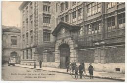 75 - PARIS 3 - Ecole Centrale Des Arts Et Manufactures (Entrée Des Elèves) - ELD 345 - Arrondissement: 03