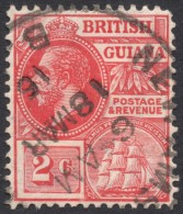 British Guiana, 2 C. 1913, Sc # 179, Mi # 129a, Used - British Guiana (...-1966)