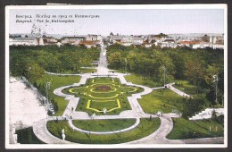 YUGOSLAVIA, 1931, Postcard BEOGRAD KALIMEGDAN, Used, NICE - Yugoslavia