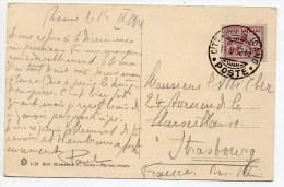 1932 - CP Du VATICAN Pour STRASBOURG - Vatican