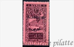 -Alaouites T7a** Surcharge Noire - Alaouites (1923-1930)