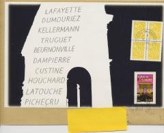 FEUILLET DU N° YT 3599 (ARC DE TRIOMPHE) SUR LETTRE (ISSU DU CARNET DES RÉGIONS) - Unclassified