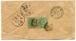 INDES ANGLAISES LETTRE DEPART PORAYAR 28 JU 09 POUR LES SEYCHELLES - 1902-11 King Edward VII