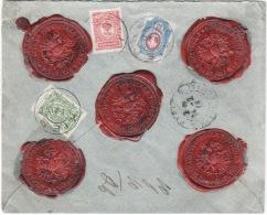 Lettre Recommandée  1913 - 1857-1916 Imperium