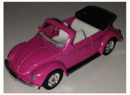 WELLY Toy - Metallic Pink  VOLKSWAGEN Kafer Beetle - Majorette