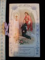 Image Pieuse Communion , Fin 19 Eme - Images Religieuses
