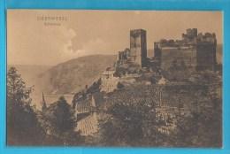 C.P.A. OBERWESEL - Schönburg - Oberwesel