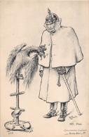"""¤¤  - 456  -  Illustrateur   - Carte Patriotique  - Commisération Impériale """" Pauvre Bête """"  -  Allemand, Aigle - Patriotic"""
