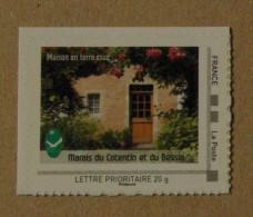 LFV1 Basse-Normandie : Marais Du Cotentin Et Du Bessin (Maison En Terre Crue)  -autocollant- - France