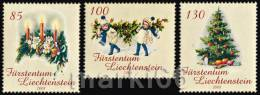Liechtenstein - 2008 - Christmas - Mint Stamp Set - Unused Stamps