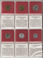 FAO 6 COINS SYRIE, SAN MARINO, TONGA, TURKIJE UNC - Monnaies