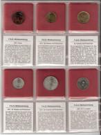 FAO 6 COINS TURKIJE, ST.THOME EN PRINCIPE, SAOEDIE-ARABIE UNC - Coins
