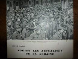 1943 Prisonniers Arrivent à COMPIEGNE; Protection Enfance Contre Les Bombes; Centenaires Du Rail; Rouen-Saint-Sever - Journaux - Quotidiens
