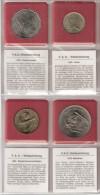 FAO 4 COINS FIJI, ITALIE, MALEDIVEN, WESTAFRIKAANSE STATEN UNC - Monnaies