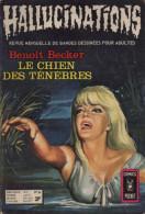 HALLUCINATIONS N° 26 BE AREDIT COMICS POCKET 05-1973 - Hallucination