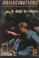 HALLUCINATIONS N° 11 BE AREDIT COMICS POCKET 09-1971 - Hallucination