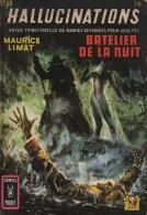 HALLUCINATIONS N° 10 BE AREDIT COMICS POCKET 07-1971 - Hallucination