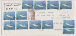 ALGERIE - ALGERIA - Express Mail - Exprès Annaba El Marsa - Poisson - Fish - Algeria (1962-...)