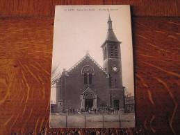 CPA - LENS - Eglise Ste-Barbe - Lens