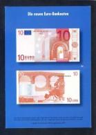 Alemania. *Die Neuen Euro-Banknoten* Ed. Bundesministerium Der Finanzen. Nueva. - Monedas (representaciones)