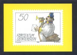 Liechtenstein. Ed. Postmuseum Des Fürstentums... Nueva. - Sellos (representaciones)