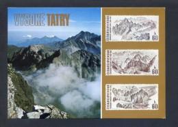 República Checa. *The High Tatras...* Nueva. - Sellos (representaciones)