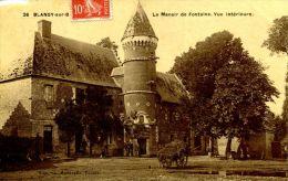 N°36443 -cpa Blangy Sur Bresle -le Manoir De Fontaine- - Blangy-sur-Bresle
