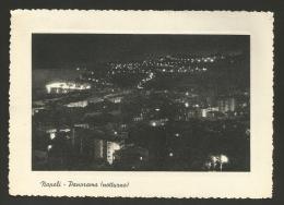 Napoli - Città - Panorama Notturno - Formato Grande - Viaggiata - Napoli (Naples)